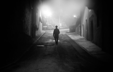 man-street-fog-darkness