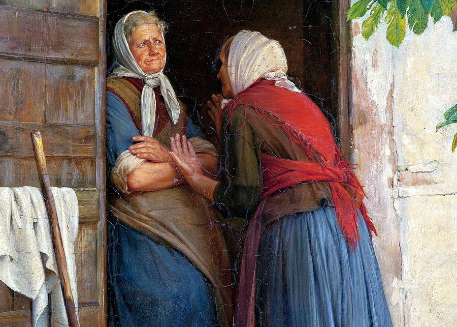 two-women-talking-carl-heinrich-bloch